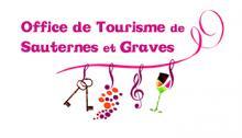 Logo Office de tourisme des Graves et du Sauternais